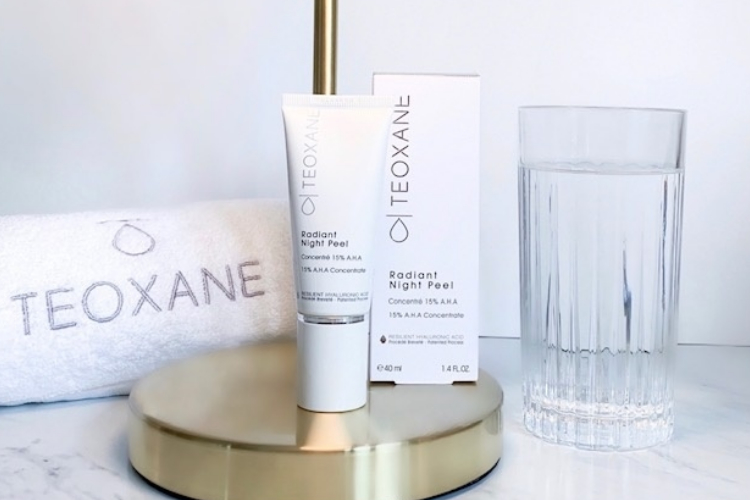 Teoxane Radiant Night Peel Dr Louise Pierre Aesthetics Specialist In Cosmetic Treatments